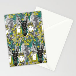 A Midsummer Night's Dream | fairy fantasy | emerald Stationery Cards
