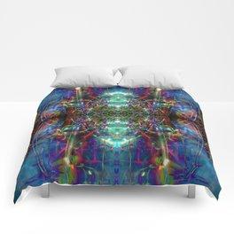 Trippy Kalidescope Pattern Comforters