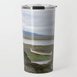 Abandoned :: A Lone Canoe Travel Mug
