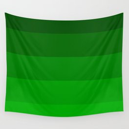 Irish Kelly Green Ombre Stripes Wall Tapestry