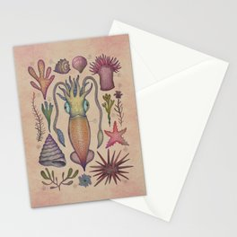Aequoreus vita III / Marine life III Stationery Cards