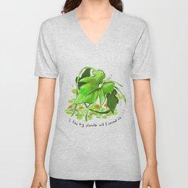 Big Plants Unisex V-Neck