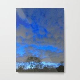 What Dream Does The Morning Sky Say To Me? Metal Print