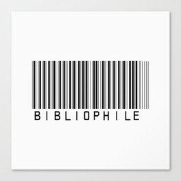 verified bibliophile Canvas Print