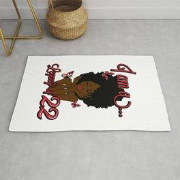 I Am A Legacy Of 22, Delta Sigma Theta 1913, Sigma Theta Gifts, Delta Sigma Theta, 1913, Black Girl, Black Women Rug