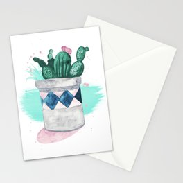 Indoor Plants Stationery Cards