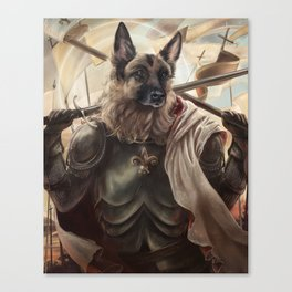 Joan of Bark Canvas Print
