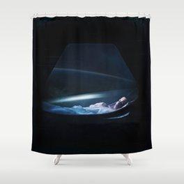 Ellen Ripley Alien fan art Shower Curtain