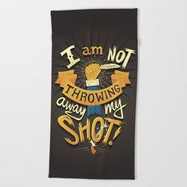 My Shot Beach Towel