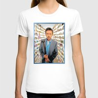 house md T-shirts featuring House MD - Colored Pencil Sketch Style by ElvisTR