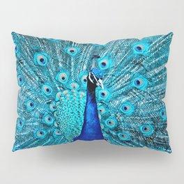 Peacock  Blue 11 Pillow Sham