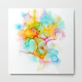 Cotton Candy And Puffalumps Metal Print