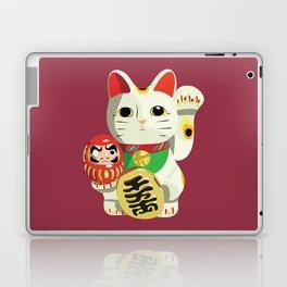 Maneki Neko - Lucky Cat Laptop & iPad Skin
