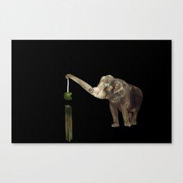 Elephant Demolition Machine Canvas Print