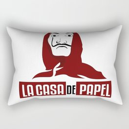 La Casa De Papel #1 Rectangular Pillow