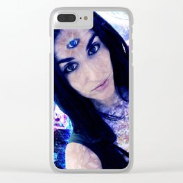 Queen of time Clear iPhone Case