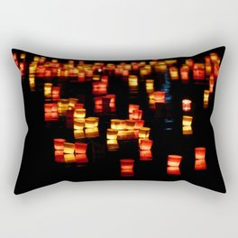 Floating Laterns Rectangular Pillow
