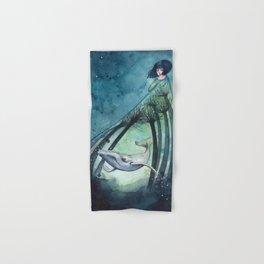 Ocean's lullaby Hand & Bath Towel