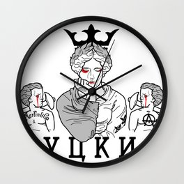 APRO-goddess2 Wall Clock