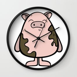 Best pig ever Wall Clock
