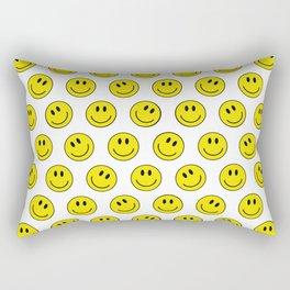 Smiley M Rectangular Pillow
