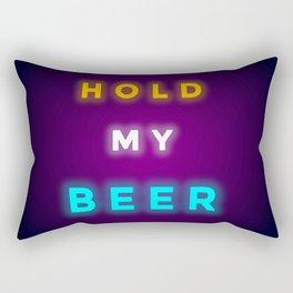HOLD MY BEER Rectangular Pillow