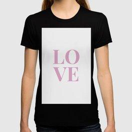LOVE - white T-shirt