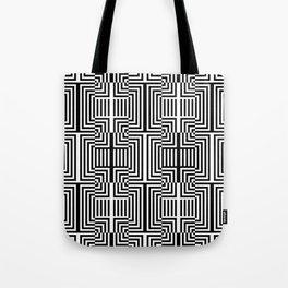 Op art pattern Tote Bag