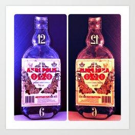 Alcohol Time Art Print