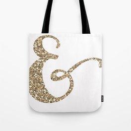 Glitter Ampersand Tote Bag