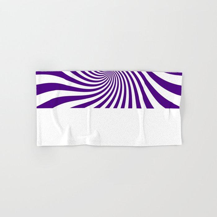 Swirl (Indigo/White) Hand & Bath Towel