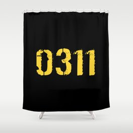 Infantry - 0311 Shower Curtain
