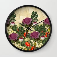 monty python Wall Clocks featuring Uncle Monty by Glanoramay