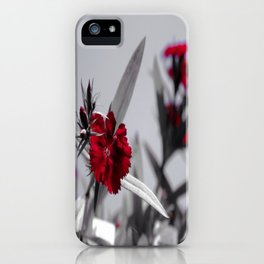 Red Petals by Igh Kihl Media/Piffington Kushfield Photography iPhone Case