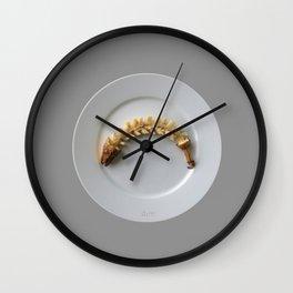 Banana Fishbone Wall Clock