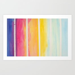 afternoon laughter Art Print