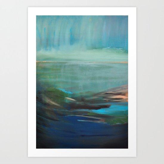 la baie Art Print