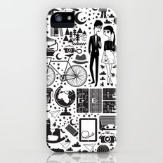 LIKES PATTERNS iPhone (5, 5s) Slim Case