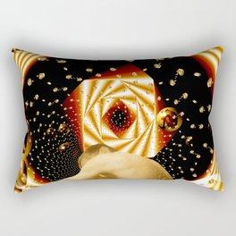 Embryonic Voyage Rectangular Pillow