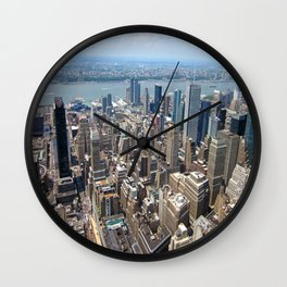 NYC IV Wall Clock