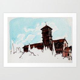 Palazzo Art Print