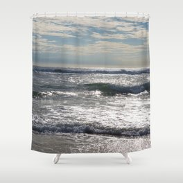 Morning Seascape Shower Curtain