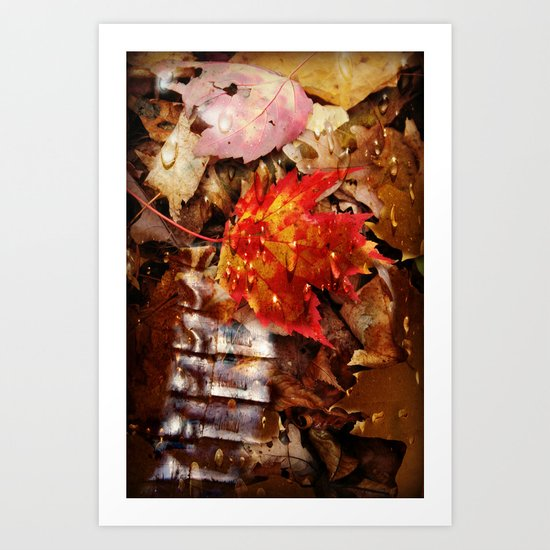 The Armor of Autumn Art Print