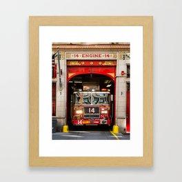 Engine 14 Framed Art Print