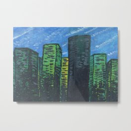 City Towers Metal Print