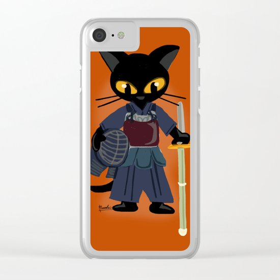 Kendo Clear iPhone Case
