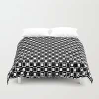 graphic design Duvet Covers featuring Graphic Design by ArtSchool