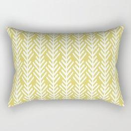 Olive Arrows Rectangular Pillow