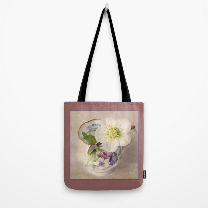 January Flower Tote Bag