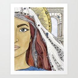 Junia Art Print